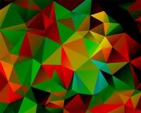 Абстрактный полигон предпосылки Стоковая Фотография RF