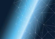Предпосылка полигона космоса стоковая фотография