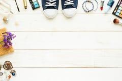 Предпосылка подростка, молодой женщины или девушки Стоковое фото RF