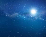 Предпосылка поля звезды Стоковое фото RF