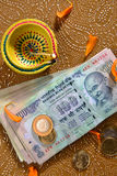 Предпосылка празднества Diwali Стоковое Изображение RF