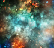 Предпосылка праздника абстрактная defocused с запачканным bokeh Стоковое фото RF