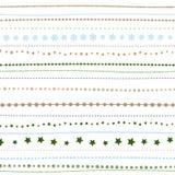 Предпосылка праздника, безшовная striped картина рождества ` s Нового Года большая иллюстрация клетки шаржа слушает детеныши прог Стоковая Фотография
