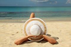 Предпосылка праздника пляжа стоковая фотография
