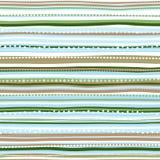 Предпосылка праздника, ретро striped картина рождества ` s Нового Года большая иллюстрация клетки шаржа слушает детеныши прогулки Стоковая Фотография RF