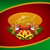 Предпосылка праздника рождества Стоковая Фотография RF