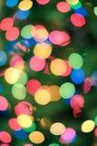 Предпосылка праздника с запачканными светами Стоковые Фото