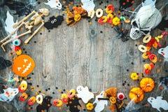 Предпосылка праздника хеллоуина Стоковое Фото