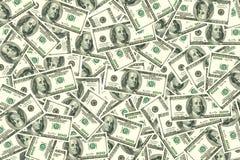 предпосылка представляет счет многочисленнnNs рамки долларов польностью положенное Стоковые Фото