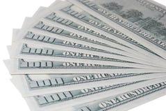 предпосылка представляет счет многочисленнnNs рамки долларов польностью положенное Стоковые Изображения RF