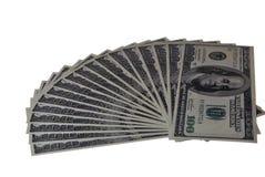 предпосылка представляет счет многочисленнnNs рамки долларов польностью положенное Стоковое фото RF
