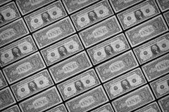 предпосылка представляет счет многочисленнnNs рамки долларов польностью положенное доллар одно мы Стоковые Изображения RF