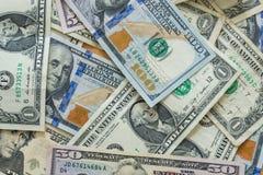 предпосылка представляет счет доллар мы Стоковые Изображения