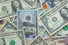 предпосылка представляет счет доллар мы Стоковая Фотография RF