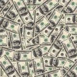 предпосылка представляет счет доллар 100 одно Стоковые Изображения RF