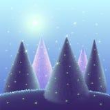 Предпосылка приветствию с Рождеством Христовым Стоковая Фотография