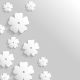 Предпосылка приветствию цветка бесплатная иллюстрация