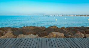Предпосылка природы Средиземного моря Стоковое фото RF