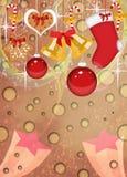 Предпосылка пришествия или рождества Стоковая Фотография