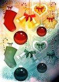 Предпосылка пришествия или рождества Стоковое фото RF