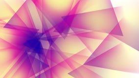 Предпосылка прозрачных геометрических форм Стоковые Фото