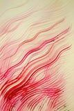 Предпосылка прокладок акварели волнистых Стоковая Фотография