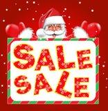 Предпосылка продажи рождества Стоковые Изображения RF