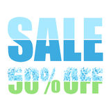 Предпосылка продажи multicolor Стоковые Изображения