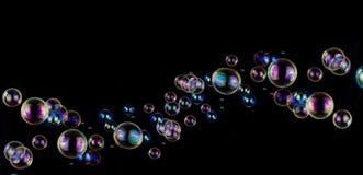 Предпосылка пузыря мыла Стоковая Фотография