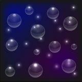 Предпосылка пузыря пирофакела Стоковое Фото