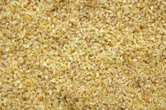Предпосылка пшеницы булгура Стоковые Фото