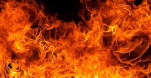 Предпосылка пламени огня Стоковые Фото