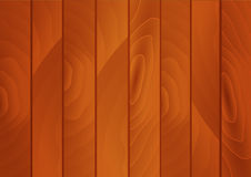 Предпосылка планок Brown деревянная Стоковое Изображение