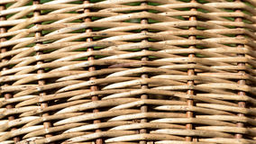 предпосылка плетеной корзины, Стоковое Изображение