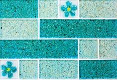 Предпосылка плитки мозаики плитки Стоковая Фотография