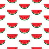 Предпосылка плодоовощ арбуза Стоковое Изображение