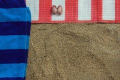 Предпосылка пляжа тематическая Стоковое Фото