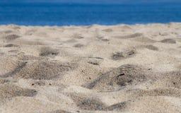 Предпосылка пляжа sand стоковая фотография rf