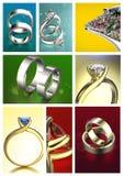 Предпосылка драгоценных камней Алмаз вениса Стоковые Изображения RF