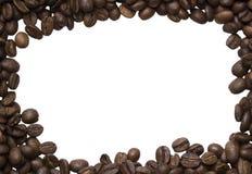 Предпосылка разлитых фото зажарила в духовке кофе Arabica Стоковое фото RF