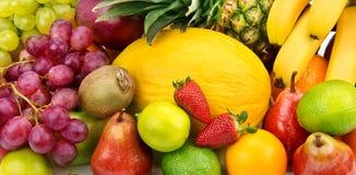 Предпосылка различных плодоовощей Стоковые Фотографии RF