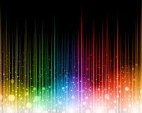 Предпосылка радуги абстрактная Стоковая Фотография