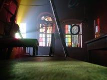 Предпосылка радуги светлая стоковая фотография rf