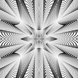 Предпосылка решетки дизайна monochrome иллюстрация штока