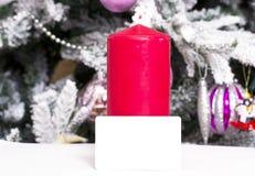 Предпосылка рождества абстрактная с шаблоном карточки Стоковое фото RF