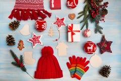 Предпосылка рождества горизонтальная Стоковые Фотографии RF