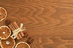 Предпосылка рождества деревянная Стоковые Фото