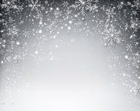 Предпосылка рождества зимы звёздная Стоковое Фото