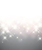 Предпосылка рождества зимы звёздная Стоковая Фотография RF