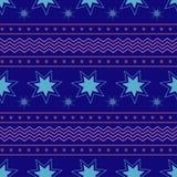 Предпосылка рождества и Нового Года зимы вектора безшовная иллюстрация штока